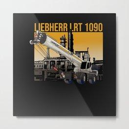 Liebherr LRT 1090 Metal Print