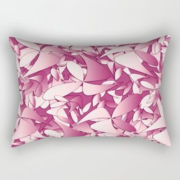 Pattern pink 4 Rectangular Pillow