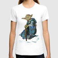 yoda T-shirts featuring Yoda by pabpaint