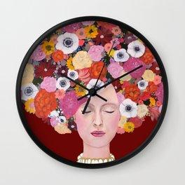 mes pensées Wall Clock