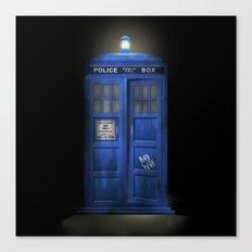 """Death – The Doctor's Truest Companion"" Canvas Print"