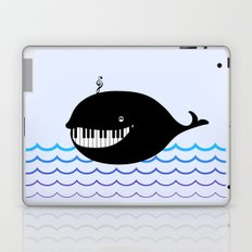 whale  (water proof piano!) Laptop & iPad Skin