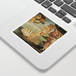 The Birth of Venus by Sandro Botticelli Sticker