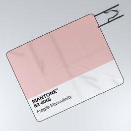 MANTONE® Fragile Masculinity Picnic Blanket