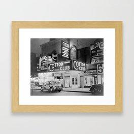 African American Harlem Renaissance Cotton Club Jazz Age Photograph Framed Art Print