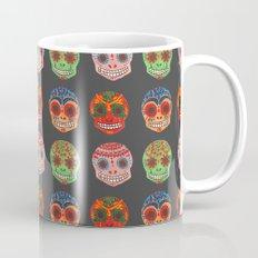 Watercolor Dia de los Muertos Skulls Mug