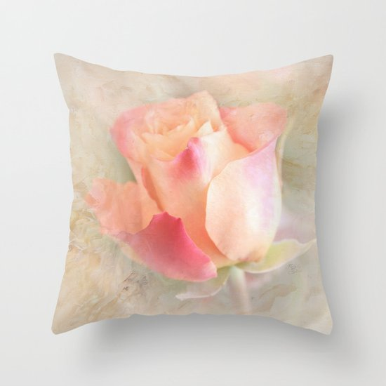 The Beauty of Friendship Throw Pillow