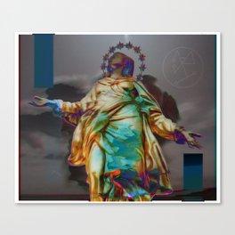 Virgen II Canvas Print