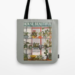 House Beautiful January 1938 Tote Bag