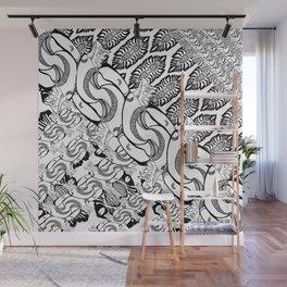 random absraction Wall Mural