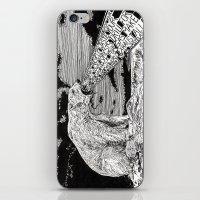 polar bear iPhone & iPod Skins featuring Polar Bear by Meredith Mackworth-Praed