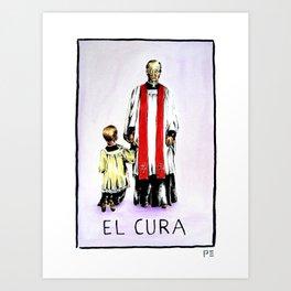 El Cura Art Print