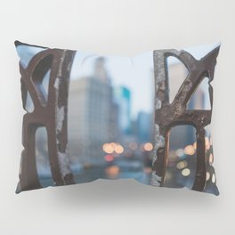 Chicago River Dreams Pillow Sham