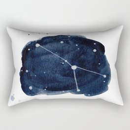 Zodiac Star Constellation - Cancer Rectangular Pillow