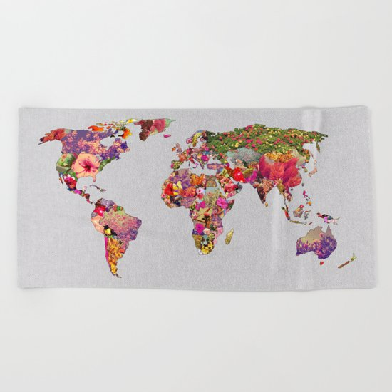 It's Your World Beach Towel