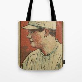 Babe Ruth Yankees Tote Bag