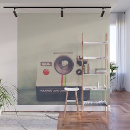 a portrait of a vintage camera Wall Mural