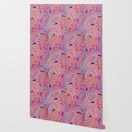 paisley heart  Wallpaper