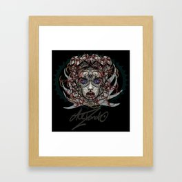Google Medusa Framed Art Print