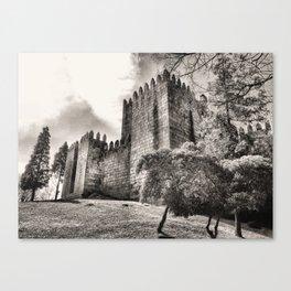 Guimaraes Castle in Portugal Canvas Print