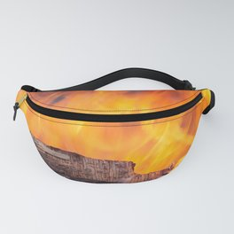 Plywood on Fire Fanny Pack