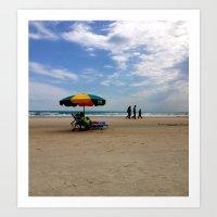 Daytona Beachin' Art Print
