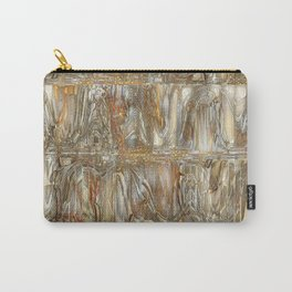 Abstract raw colors movement design Carry-All Pouch