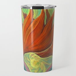 Strelitzia / Bird of Paradise Travel Mug