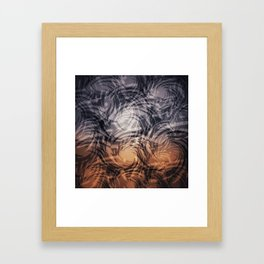Swirls #1 Framed Art Print