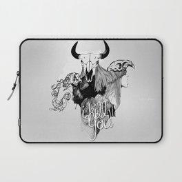 I Kill You Laptop Sleeve
