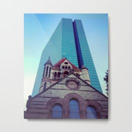 A Tale of Two Faiths Metal Print