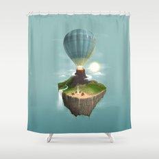 Tropical Escape Shower Curtain