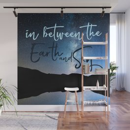 In Between the Earth and Sky Wall Mural