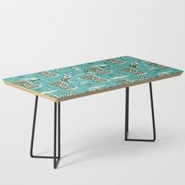 Tropical Tiki - Aqua Coffee Table