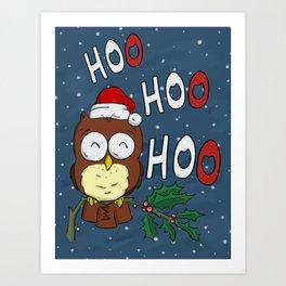 Hoo! Hoo! Hoo! Art Print