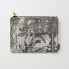 Kid at heart - Black & White Carry-All Pouch