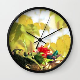 FAIRY Scout in Love Wall Clock