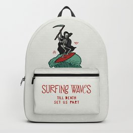 Surfing Death Backpack