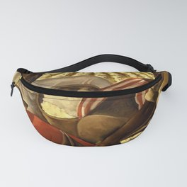 African American Masterpiece 'Oh Freedom! Hear my Voice' WPA landscape painting by Earle Richardson Fanny Pack