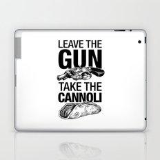 Leave the Gun Take the Cannoli Laptop & iPad Skin