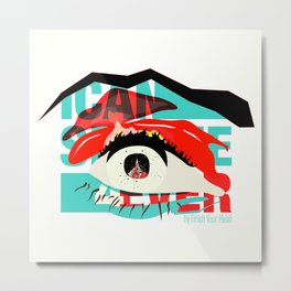 I Can See Forever: Cover Metal Print