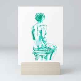 Female nude Mini Art Print