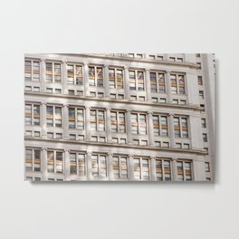 Sunshine in the City Metal Print