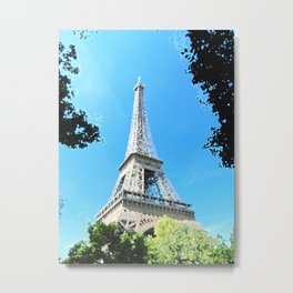 Eiffel Tower in Paris Metal Print
