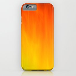 Mark Rothko Inspired Fire Painting iPhone Case