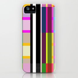 Stripe 7 iPhone Case