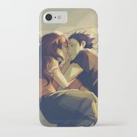viria iPhone & iPod Cases featuring I hear your voice by viria