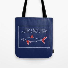 JE SUIS SHARKS Tote Bag