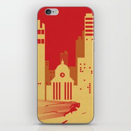 Central Sky iPhone Skin