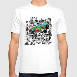 GLOBAL A GO-GO T-shirt